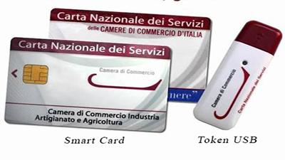 Smart Card e Token USB CNS o Carta Nazionale dei Servizi