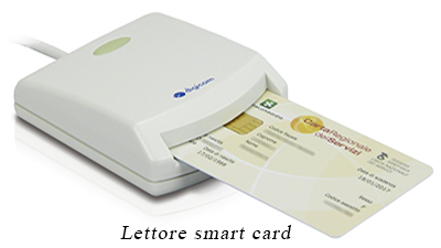 Lettore Smart Card per CNS
