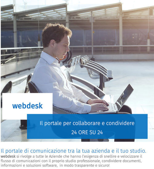 Immagine Brochure WebDesk collaborazione studio azienda